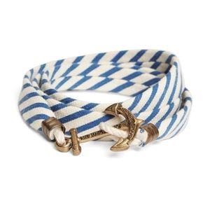 Kiel James Patrick Seersucker Cord Bracelet